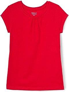 French Toast Girls' Short Sleeve Crewneck T-Shirt Tee