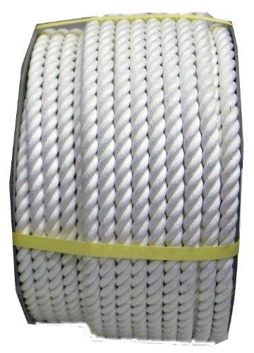 まつうら工業 クレモナS製 ロープ 太さ16mm 長さ100m ドラム巻