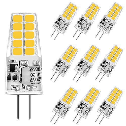 Aourow LED G4 Bombilla de Luz de 3,5 W,Blanco Cálido 3000K G4 Bombillas LED 350LM Reemplazo para...