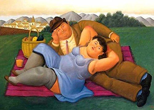 Botero 43 Poster cm 70x100 Affiche Plakat Fine Art Il Negozio di Alex