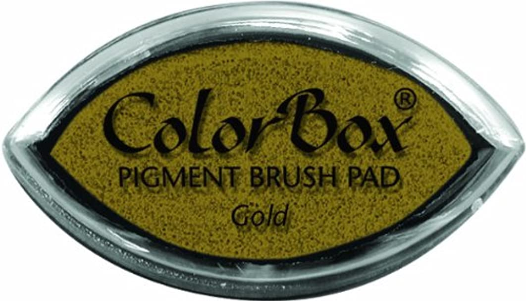 CLEARSNAP ColorBox Metallic Pigment Cat's Eye Inkpad, Gold