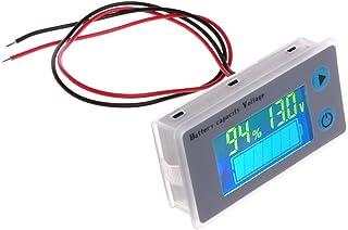 Testador universal de bateria de 10 a 100 V, testador de voltímetro, analisador de sistema de carregamento com visor LCD i...