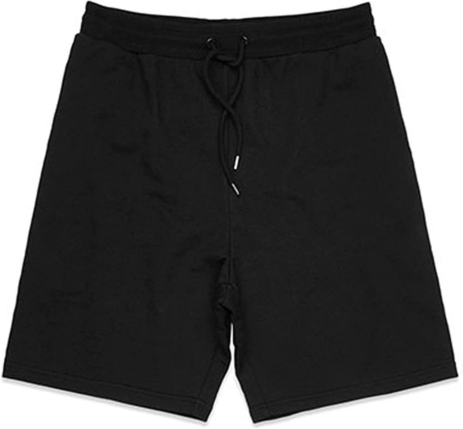 Segindy Men's Sports Casual Shorts Summer Fashion Solid Color Loose Comfortable Running
