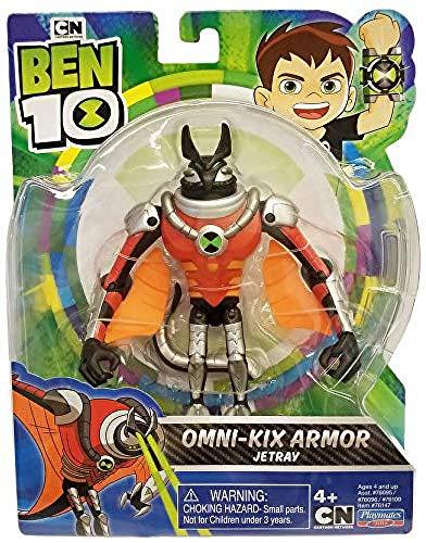 Ben 10 BEN47B10 Action Figure-Jetray