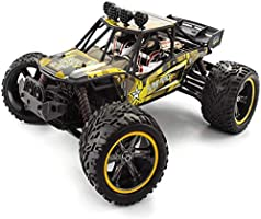 GP TOYS Remote Control Car 1/12 RC Cars High Speed Off-Road Monster Trucks with 2 Rechargeable Batteries