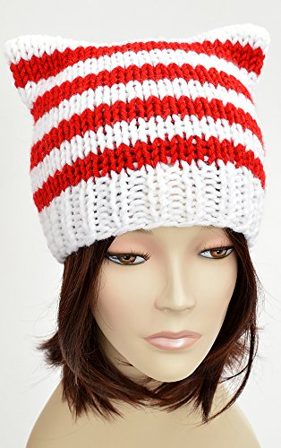 Candy Cane Hat Lollipop Christmas Hat Knitting Pattern Candy Cat Hat Cat Ears Santa Hat Pattern Christmas Beanie Pattern Festive Beanie Christmas Outfit ... Gift Festive Hat Holiday (English Edition)