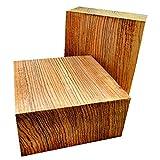 Wood) Nice KILN Dried Zebrawood Bowl Blank Lathe Turning Wood Lumber 6' x 6' x 2'