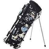 MIZUNO(ミズノ) ゴルフ キャディーバッグ ミズノ 241CO. フレームウォーカー メンズ 約3.6kg 9.5型(75cm)/47インチ対応/4分割 ブラック 5LJC200900