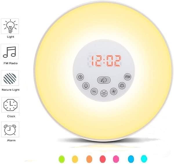 唤醒闹钟日出模拟 FM 广播的声音触摸控制