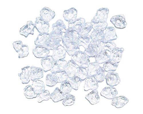ERRO Eisbruch 50 Stück je Beutel, ca. 800 Gr, Kunststoffattrappe, Crushed Ice