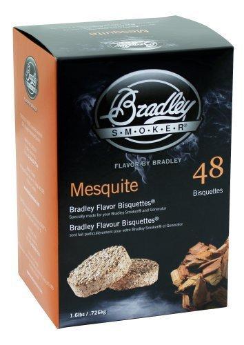 Bradley - Bisquettes de Bradley Mesquite (48 unidades)