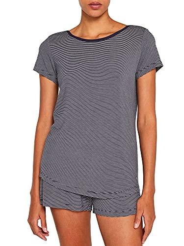 ESPRIT Navy Jersey-Stretch-Shirt