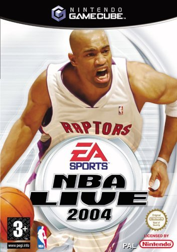 NBA Live 2004 (GameCube) by Electronic Arts
