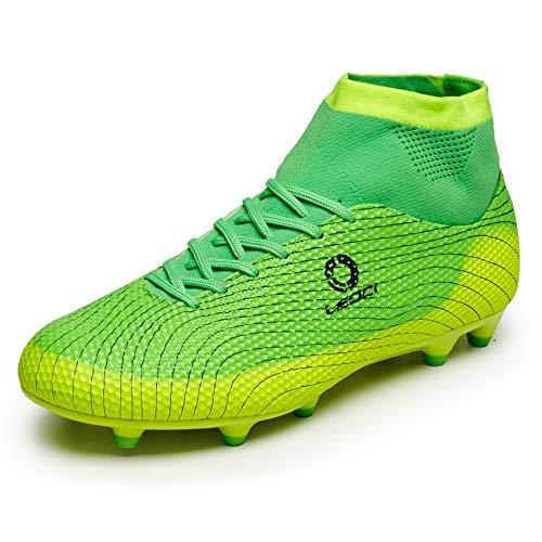 LEOCI Boys Futsal Football Training Boots, Professional...