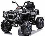 u URideon Kids ATV, Electric 4 Wheeler Quad for Kids, Power Ride On Car Vehicle...