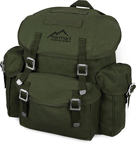 normani BW Rucksack, Mod, schwarz, mit Träger (wie BW Packtasche) Farbe Oliv