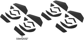 Logic-Seek - Juego de 4 pegatinas de teflón para ratón Logitech G502 Laser Mouse (0,6 mm)