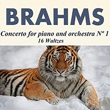 Brahms - Concerto for piano and orchestra Nº 1 - 16 Waltzes