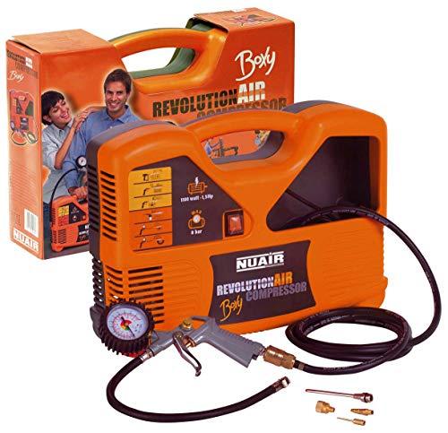 RevolutionAIR Compressore, 230 V, Arancione, Boxy