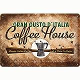 Nostalgic-Art 22185 Coffee und Chocolate House Blechschild,