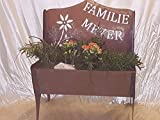 Jabo Design BB01 NEU NEU NEU Gartenbank Pflanzengefäß individuell Deko Rostdeko Edelrost Schale Blumen Taschen Skulptur Metall