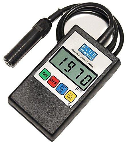 Blue Technology P-11-S-AL Schichtdickenmessgerät, Schwarz, 11cm x 6,5cm x 2,8cm