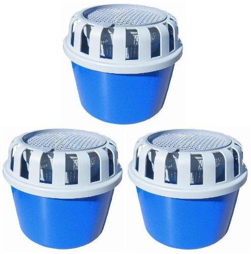 3 x Luftentfeuchter Box für loses Raumentfeuchter Granulat