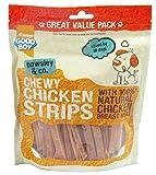 Good Boy Pawsley & Co - Tiras de pollo, 350 g, 3 unidades