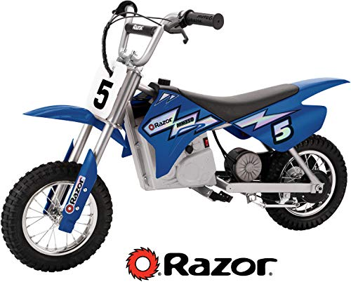 Razor MX350 Dirt Rocket Electric Motocross Off-road Bike for Age 13+, Up to 30 Minutes Continuous Ride Time, 12\