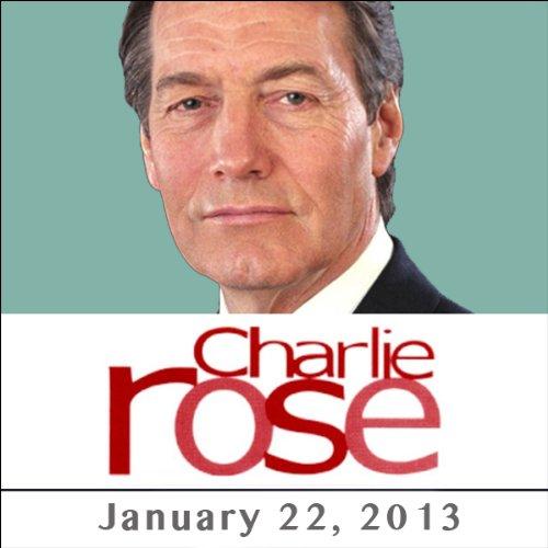 Charlie Rose: Michael Beschloss, Bob Woodward, Jon Meacham, Robert A. Caro, and James Taylor, January 22, 2013 audiobook cover art