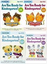 Kumon Workbooks - Are You Ready for Kindergarten? SET (4 Books)