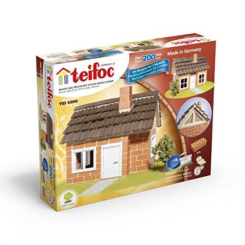 Teifoc Steinbaukästen Konstruktionsspielzeug Fachwerkhaus
