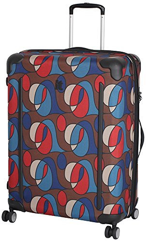 IT Luggage - Maleta Unisex, Wandering Line Print (Varios colores) - 14-1312-08L-MC