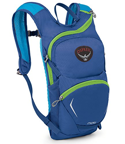 Osprey Packs Kid's Moki 1.5 Hydration Pack, Wild Blue