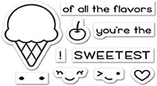 """Lawn Fawn Clear Stamps 3""""X2"""" - Lf1698 Sweetest Flavor, (Pack of 3)"""