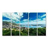 islandburner Bild auf Leinwand Saint Jean Cap Ferrat, Stadt