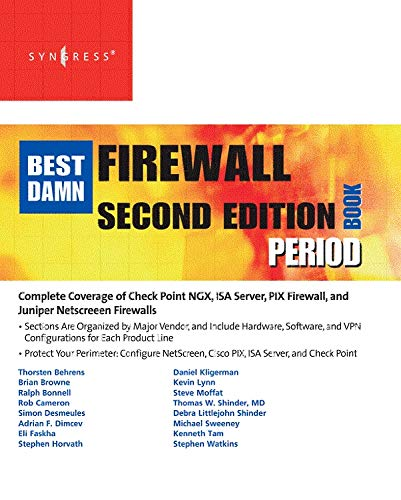 The Best Damn Firewall Book Period