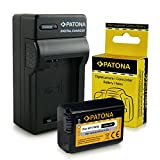 Cargador + Batería NP-FW50 para Sony NEX-3   NEX-3A   NEX-3D   NEX-3K   NEX-5   NEX-5A   NEX-5D   NEX-5H   NEX-5K   NEX-6   NEX-7   Sony Alpha: 33 (SLT-A33)   37 (SLT-A37)   55 (SLT-A55)