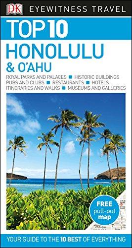 DK Eyewitness Top 10 Honolulu and Oahu