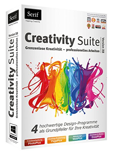 Serif Creativity Suite X8