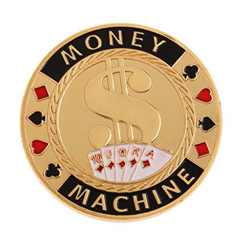 Metall All-in Poker Chips Dealer Banker Poker Tasten Zubehör - Money Machine