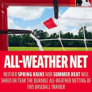 Franklin Sports MLB Baseball Pitch Back Multi-Position Return Trainer