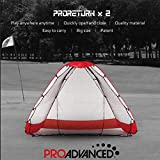 PROADVANCED Icebreaking Price - ProReturn X2 Multi-Sport Indoor/Outdoor Hitting Net/Ball-Return Backstop (Black)