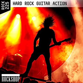 Hard Rock Guitar Action