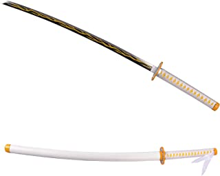 Cosplay Demon Slayer ,Handmade Lacquered Wooden sword,Variety of Styles to Choose from.