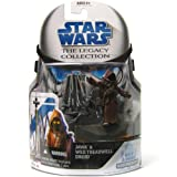 Star Wars Clone Wars Legacy Collection Build-A-Droid Factory Action Figure BD No. 33 Jawa and Treadwell Droid