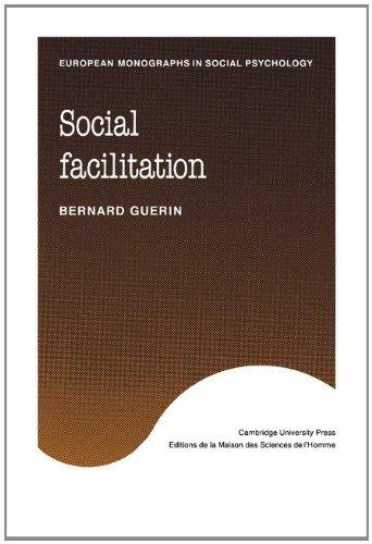 Social Facilitation (European Monographs in Social Psychology)