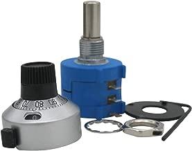 2PCS 10K Ohm 3590S-2-103L Rotary Wirewound Precision Potentiometer Pot 10 Turns