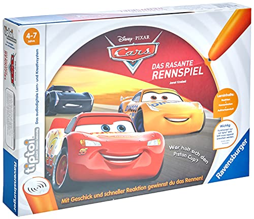 Ravensburger tiptoi Spiel 00021 - Cars -...