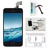 Trop Saint Écran pour iPhone Se Noir - Kit de Réparation LCD Complet avec Notice,...